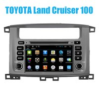 auto dvd systems - Android System Auto DVD Player with GPS WIFI G for Toyota Land Cruiser Quad Core Car Dvd Din Radio OBD2 Bluetooth