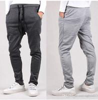 Wholesale Hot new Autumn Brand Design Mens Pants Mens Joggers Loose Fashion Casual Pants Men s Sports Pants Slim Pants