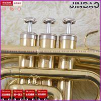 Wholesale Mall genuine musical instrument sounds Jinbao licensing JBMT pocket trumpet palm No lifetime warranty