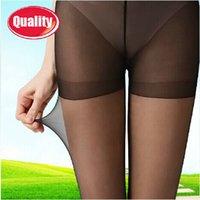 Cheap Wholesale 2014 new super slim Silk stockings tight semitransparent pantynose shiny pantyhose for women multi-colors