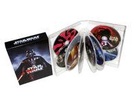 Wholesale 2016 Hot Star Wars blu ray Saga Episodes I VI Disc set US Version Brand New