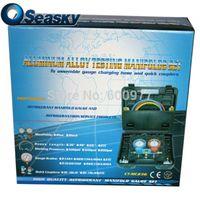 Wholesale 72 quot R410A Aluminum Alloy Pressure Refrigerant Gauge With Case CT MC372G R410A