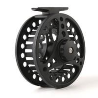 black fly fishing reels - Lowest price ALC78 mm lowest price Chinese aluminum die casting fly fishing reel