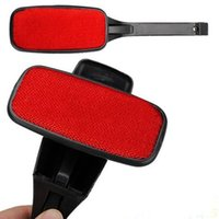 Wholesale pieces Magic Lint Dust Brush Pet Hair Remover Clothing Cloth Dry Cleaning with Swivel
