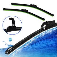 Wholesale New Arrive Car Flat U type Frameless Bracketless Rubber Windshield Windscreen Wiper Blade