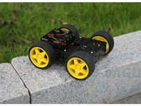 base pi - DG012 BV Discoverer Multi4WD Based Vehicle Robot DC Motor Car Body Whole Aluminum Chassis Smart Raspberry RPI pCduino PI Pie