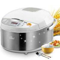 Wholesale SKG Smart Microcomputer Rice Cooker stainless steel housing multifunctions