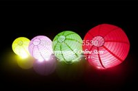 Wholesale 400 Fedex freeshipping Chinese round Paper Lanterns CM inch Wedding Lantern Romantic gift for Valentine s day order lt no track