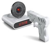 alarm o clock - Gun Alarm Clock Gun O Clock Shooting Alarm Clock