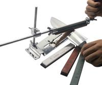 Wholesale NEW Profession Kitchen Sharpening Scissor Knife Blade Sharpener System with Stones