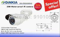 Cheap Promotion CCTV CMOS Camera 600TVL 20M IR IR-CUT High Resolution Water-proof Camera Lowest DS-CR202SDH3
