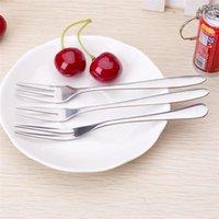 Wholesale Hot Seller Cake Fruit Dessert Forks Flatware Stainless Steel Size CM Styles JA100