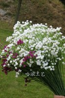 Wholesale New Arrival cm Length Artificial Flowers Simulation Starry Gypsophila Baby s breath Bush Home Decoration Wedding Flower