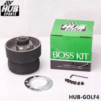 Wholesale TANSKY High Quality Racing Steering Wheel Boss Kit Hub Adapter Fit For Volkswagen VW Golf4 HUB GOLF4