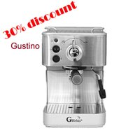 Wholesale Famous Italian brand Gustino pressure espresso coffee machine stainless steel coffee maker coffee maker