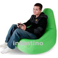 Wholesale waterproof game beanbag sofa chair bean bag sofa Lovely PEAR shape beanbag polyester game chair beanbag good for indoor AND outdoor use