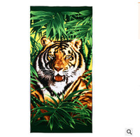 bath wrap pattern - DHL freeship Styles Large Absorbent Microfiber animal pattern Bath Towel Shower Spa Body Wrap cm Towel Beach Quick Dry