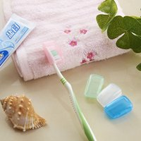 Wholesale Travel toothbrush case portable anti bacterial waterFree Brush head case toothbrush air permeability