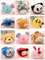 big choice - 38cm Cute Cartoon House Warm Big USB Shoes Plush Shoes Totoro Elephant Dog Stitch Penda patterns for choice