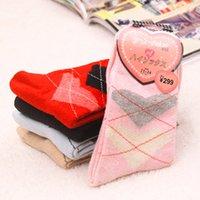 100 % wool socks - Knee High Socks wool Terry Wool Skate Socks Outdoor Stance Socks for Women winter Stockings3077