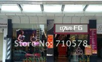 airport films - ON SALE Fast shipping Transparent color Rear projection foil film for Stores Airport Exhibition hall Bank