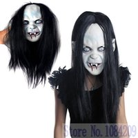 Wholesale Witch Halloween horror masks hedging