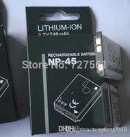 Wholesale Original NP A FNP45a NP45a NP A NP Battery for Fujifilm fuji XP11 J38 Z70 Z35 J40 J20 Z10 Z20 Z100 fd J10 J50 Z200 Z33