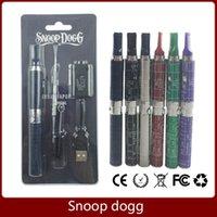 Metal vape pen - Dry herb snoop dogg blister vaporizer vape pen kit with mAh snoop dog battery and herbal vaporizer gs atomizers VS Titan via DHL free