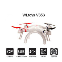 Wholesale WLtoys V353 Galaxy Headless Mode G CH Axis Gyro RC Quadcopter VS Walkera QR X350 Pro DJI Phantom vision Drone