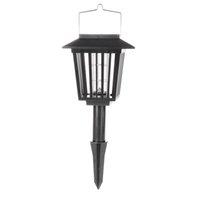 mosquito killer outdoor - 2015 New Multi functional Solar Pest Repeller Mosquito Killer Lamp LED Outdoor Garden Camping Light H15208