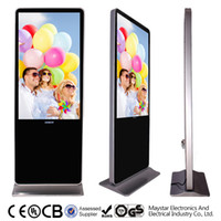 network digital signage - Network Version wifi Floor Standing LCD Display Inch Screen Best Digital Signage Multi Language Digital Media Player for MS F65CD XF2
