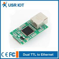 Wholesale USR TCP232 E2 TTL UART to Ethernet Converter TCP IP Module
