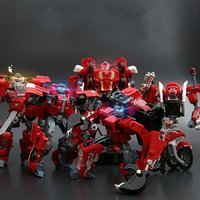 Wholesale Original High quality in Combine Transformation Robot Sentinel Prime Cars Motor Alloy Robot Toys for Boys Gift