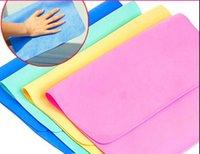 Cheap Magic PVA Magic Towel for Car Washing Cloth Cleaning Towel Wipes 30*40cm