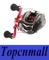 Wholesale 12BB Right Hand Bait Casting Fishing Reel Ball Bearings One way Clutch High Speed Red For Outdoor Fish