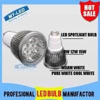 led bulb price - X6pcs Low Price High power CREE Led Lamp Dimmable GU10 W W W V Led spot Light Spotlight led bulb downlight lighting