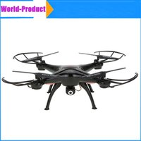 Wholesale Original Drones SYMA X5SW RC Helicopter Quadcopter with HD Camera G Axis Real Time Channels RC Helicopter Toy gift