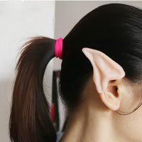 alien costume accessories - Halloween Costume Ear Tips Alien Cosplay Tool D0255