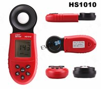 Wholesale Brand new and high quality Digital Light Meter LCD Luxmeter Luminometer Photometer Measure Tester Color Red