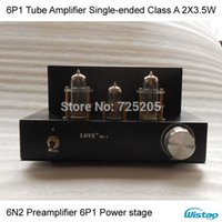 tube amplifier - Mini Tube Amplifier Single ended Class A N2 Preamplifier P1 Power Stage x3 W Natural Sweet Elegant PCB version HIFI Audio