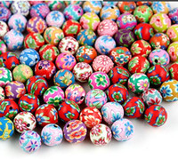 Wholesale 600pcs High Quality Assorted Colors mm Ball Round Fimo Polymer Clay Spacer Loose Beads DH FM659