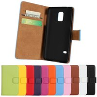 Yes Plastic For Samsung GENUINE Wallet Credit Card Stand Leather Case For samsung Galaxy s3 MINI I8190 Galaxy s4 MINI I9190 Galaxy s5 MINI 50pcs lot