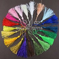 Wholesale mix colors polyester tassel fringe DIY textile decor accessries tassels