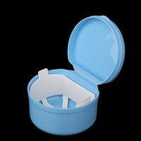 trays - Autoclavable Denture Box Container Denture Cleaning Storage Mouth Tray Holder For Mouth Care H13887