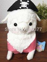 arpakasso pirate - 65x46cm New Japanese Arpakasso Amuse Genuine pirate Alpaca Doll Stuffed Plush Toy With Original Tags