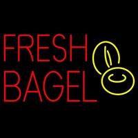 bagel shop - HOT Eagle quot x14 quot Fresh Bagel Real Glass Neon Light Signs Bar Pub Restaurant Billiards Shops Display Signboards