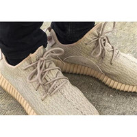 Cheap (with boxes) Oxford Tan Yeezy Boost 350 Moonrock Running Shoes Kanye West Pirate Black Classic Grey moonrock yeezys With Original