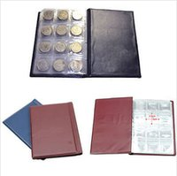 Wholesale New Hot Coin Holder Collection Storage Collecting Money Penny Pockets Album Book Collecting Coin Album