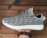 mens boots - New Top Quality Kanye West Shoes Yeezy Boost Running Shoes Athletic Yeezy Boots Mens Sport Sneakers Shoe