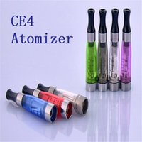Cheap E Cig Ce4 Atomiser Ego CE4 Atomizer E Cig Clearomizer Ce4 Clearomiser With Long Wick 1.6ml Suit For All Ego-t Ego w Battery E cigarettes